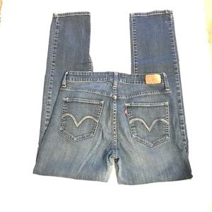 Levi's Mid Rise Skinny Jeans - Size 8